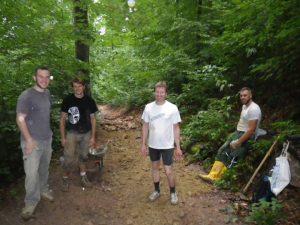 15-09-15 Downhillstrecke-Bau