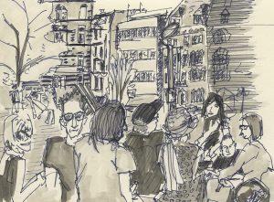 14-04-13 Stuttgart im Skizzenbuch